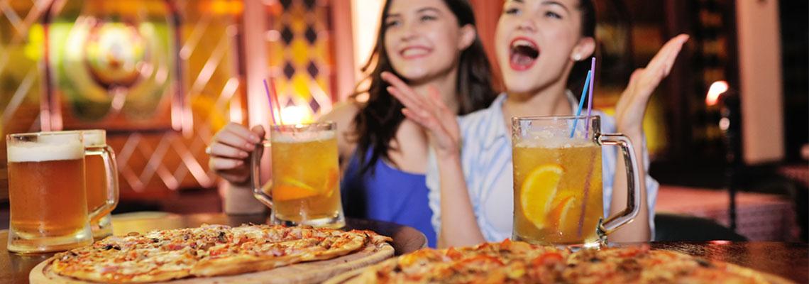 Amateur de pizzas italiennes