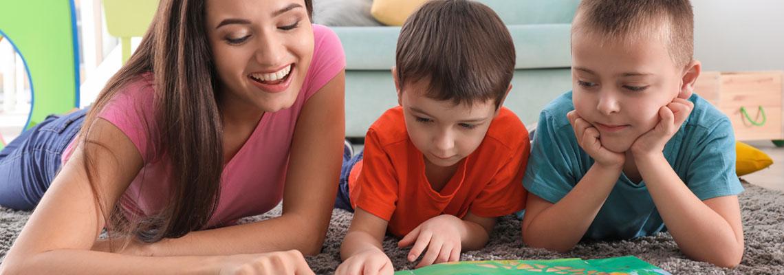 Babysitter apprentissage linguistique dès l'enfance